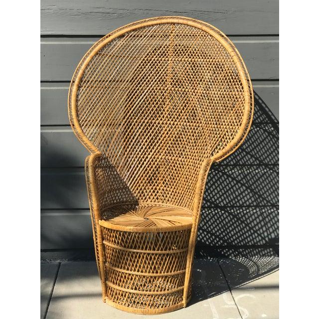 Vintage peacock chair. Great boho styling for your home and events!