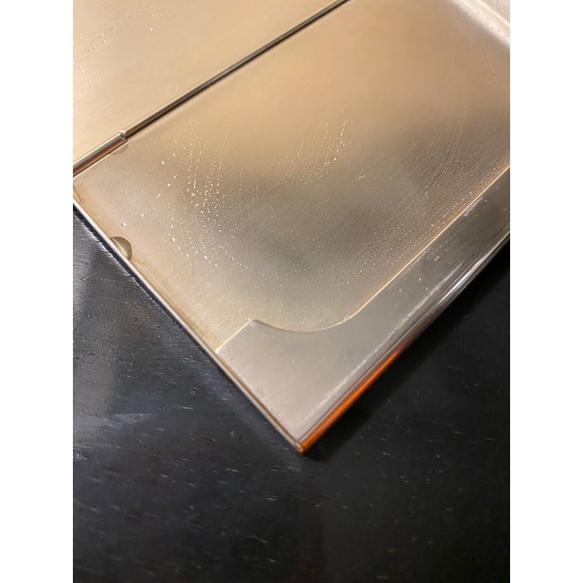 Vintage Cartier Sterling Silver Card Case For Sale In New York - Image 6 of 12