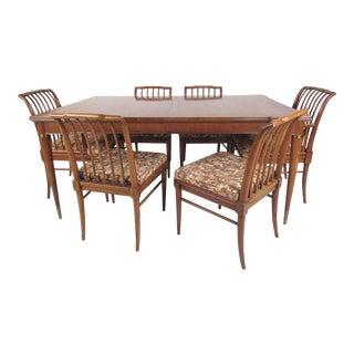 T.H. Robsjohn-Gibbings Mid-Century Dining Set For Sale
