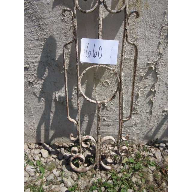Shabby Chic Antique Victorian Iron Architectural Salvage Element For Sale - Image 3 of 5