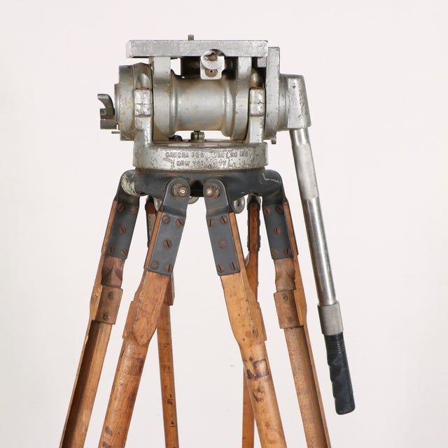 Industrial Motion Picture Tripod - Image 4 of 9