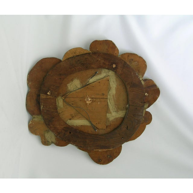 18th Century Antique Masonic Eye of Good Sculptural Wall Piece For Sale - Image 4 of 6
