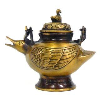 Chinese Bronze Metal Incense Burner For Sale