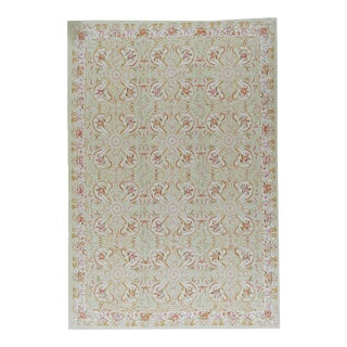 """Pasargad Aubusson Hand-Woven Wool Rug - 9'10"""" X 14' 5"""""""