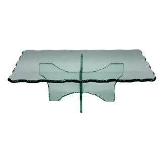 An Occasional Table in the Manner of Fontana Arte For Sale