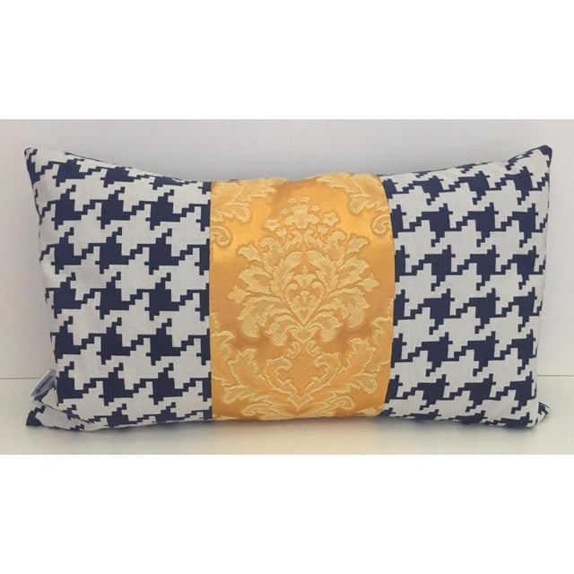 Contemporary Brocade Pillow For Sale - Image 4 of 4