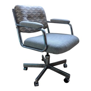 Chromcraft Office Chair - Reupholstered