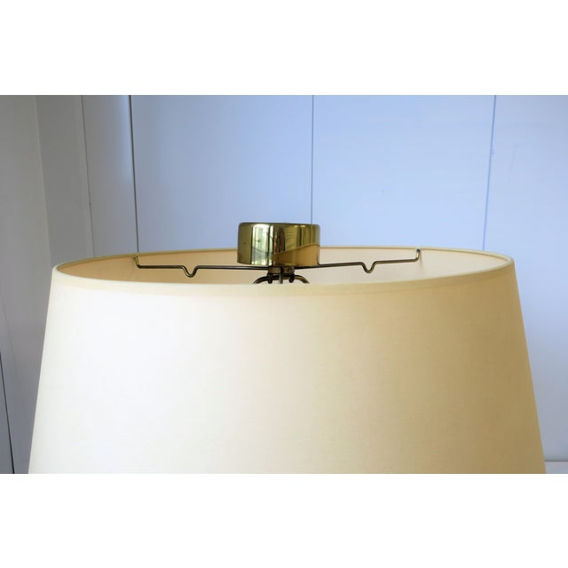 Modern Brass Floor Lamp by Koch and Lowey For Sale - Image 10 of 13