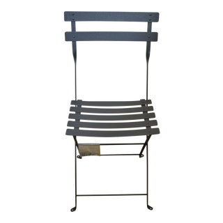 Fermob Showroom Sample Anthracite Bistro Chair For Sale