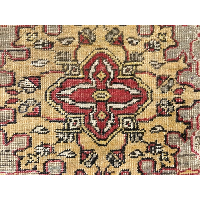 Turkish Oushak Runner - 5' x 13' - Image 7 of 10