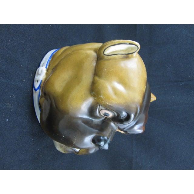 English Staffordshire Bulldog Covered Porcelain Jar - Image 6 of 9