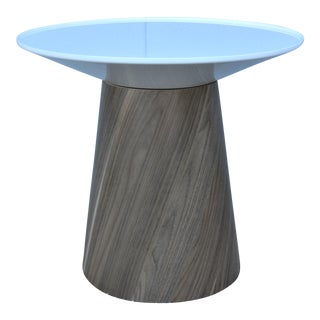 Steelcase Modern Campfire Paper Table with Spinning Table Top For Sale