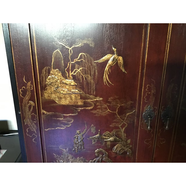 Chinoiserie Cabinet For Sale - Image 4 of 6