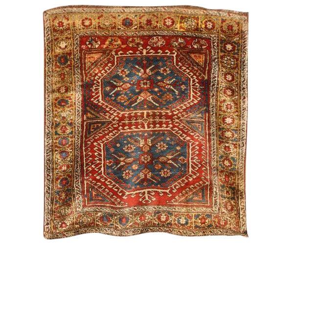 Antique 19th century Turkish Konya rug. Contact dealer.
