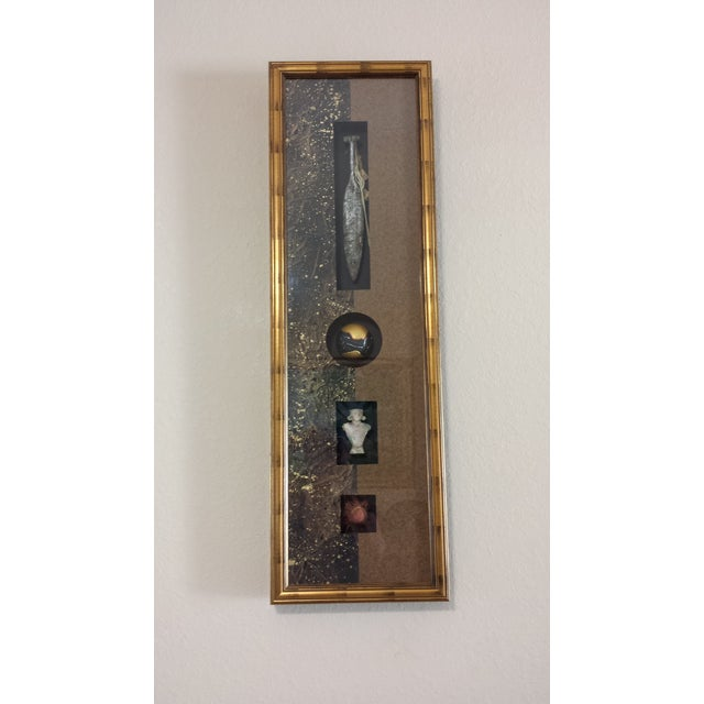 This listing is for a Chrishawn Discoveries China Wall Art. This item has some aging imperfections/spots/scratches/touch...
