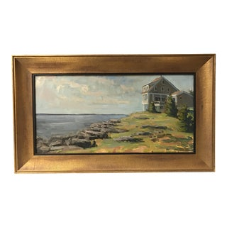 Monhegan Island Maine Oil Painting