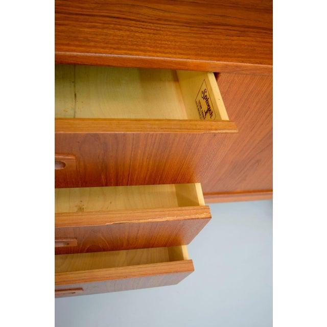 1960s Danish Teak Room Divider Sideboard - Image 11 of 11