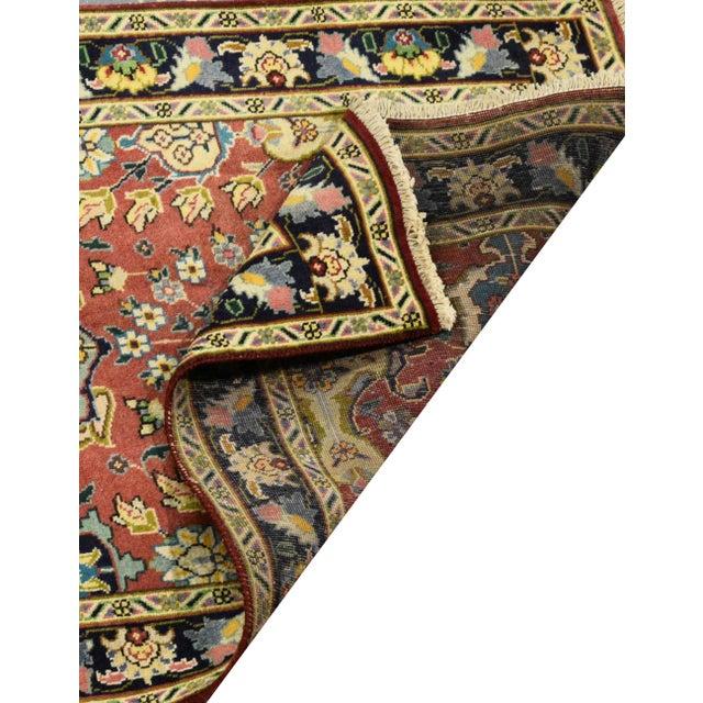 Vintage Persian Tabriz Rug - 3′2″ × 15′7″ - Image 3 of 3