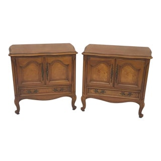 1970s Louis XV Century Furniture Nightstands - a Pair For Sale