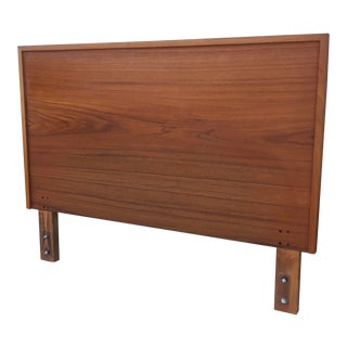 Vintage Teak Headboard For Sale