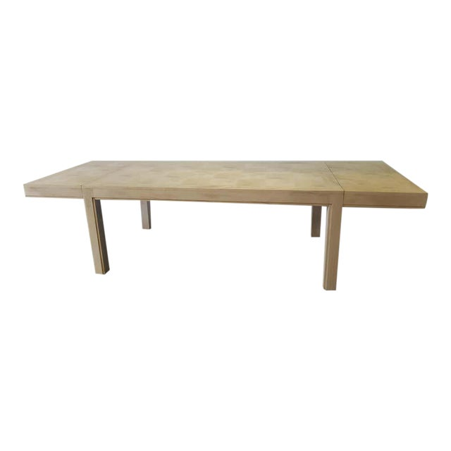 Mid 20th Century Restored Parsons Dining Table For Sale
