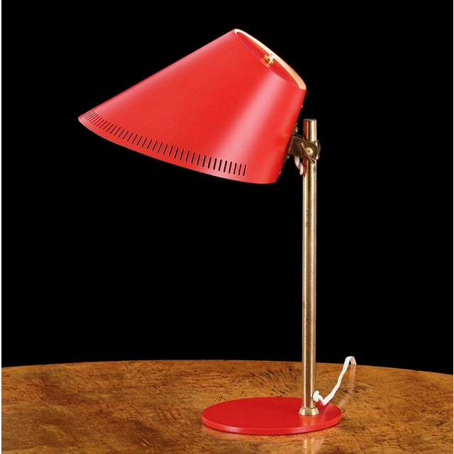 Mid-Century Modern 1950s Paavo Tynell for Idman Model 9227 Table Lamp For Sale - Image 3 of 3