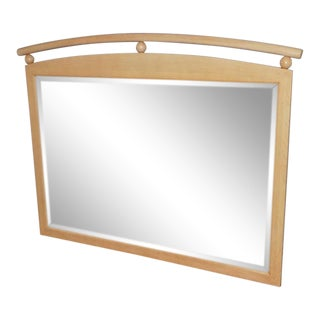 Ethan Allen American Maple Wall Mirror For Sale