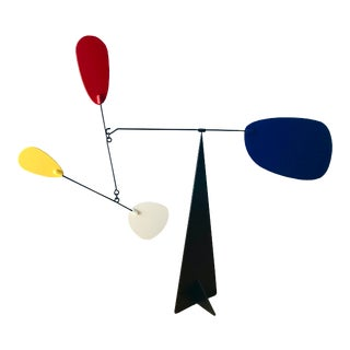 Mid-Century Modern Calder Style Table Mobile Sculpture For Sale