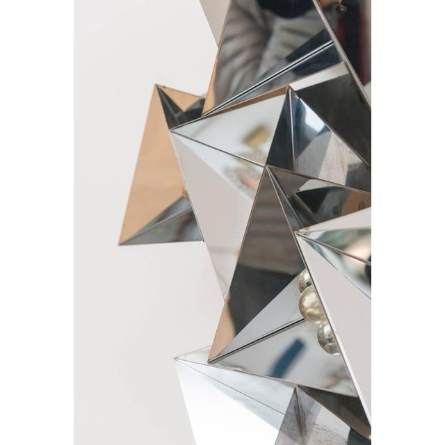 Curtis Jere Chrome Sculpture For Sale - Image 5 of 11