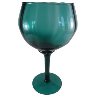 Italian Art Glass Brandy Snifter