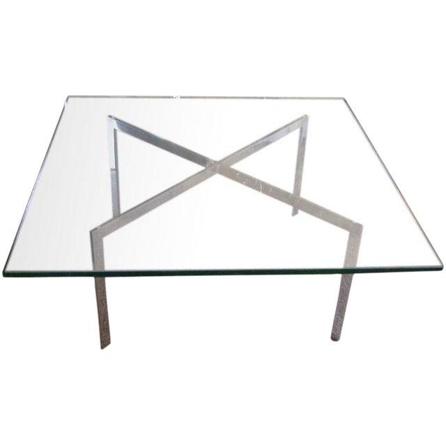 Brueton V Series Coffee Table in Steel - Image 1 of 5
