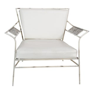 Salterini Faux Bamboo Lounge Chair