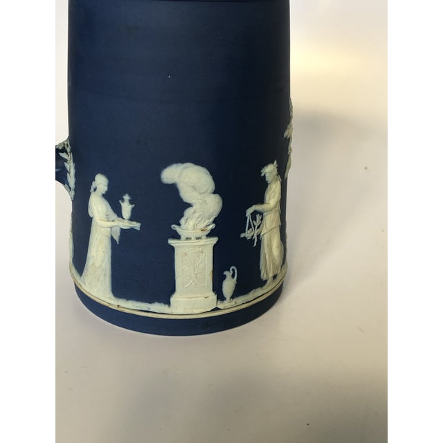 Antique Wedgwood Jasperware Pitcher For Sale - Image 6 of 9