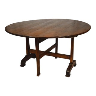 19th Century, French Wine Tasting Table For Sale