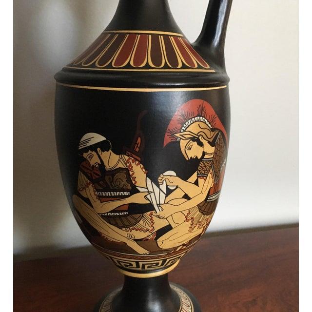 Vintage Greek Handmade and Hand Painted Ceramic Vase ...
