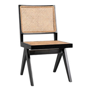 Jude Side Chair, Charcoal Black For Sale