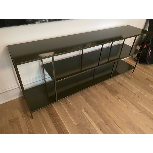 2010s Room & Board Foshay Powder Coated Metal Shelving Unit For Sale - Image 5 of 7