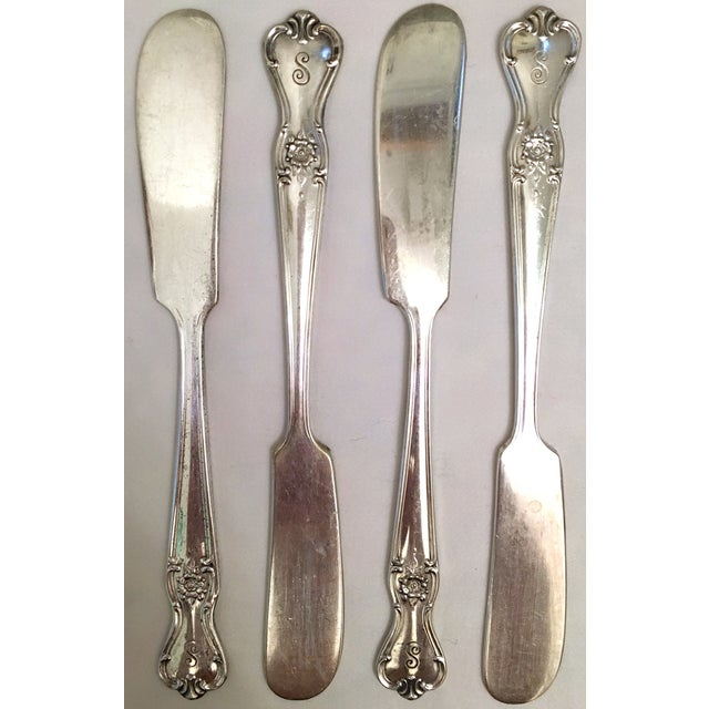 Engraved Serving Silverware - Set of 11 For Sale - Image 4 of 6