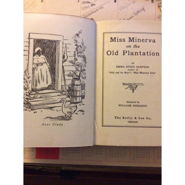 "Antique Children's Book: ""Miss Minerva on the Old Plantation"" Published 1923 - Image 3 of 7"