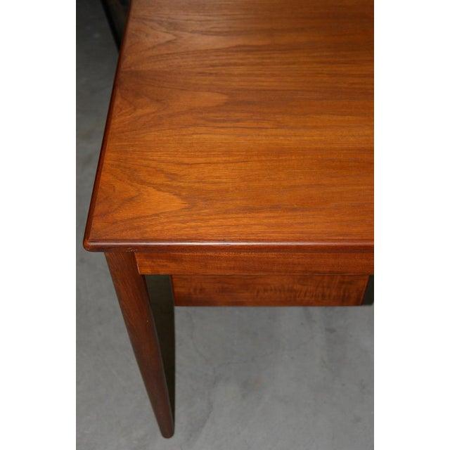 Vintage Danish Modern Teak Desk by Børge Mogensen for Søborg Møbler C.1960s For Sale In San Francisco - Image 6 of 10