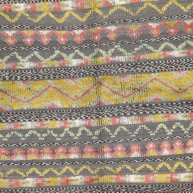 """Moroccan Mid 20th Century Moroccan Berber Rug - 4'5"""" X 5'11"""" For Sale - Image 3 of 5"""