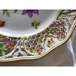 Early 20th Century Multicolored Floral Decorative Plate Preview