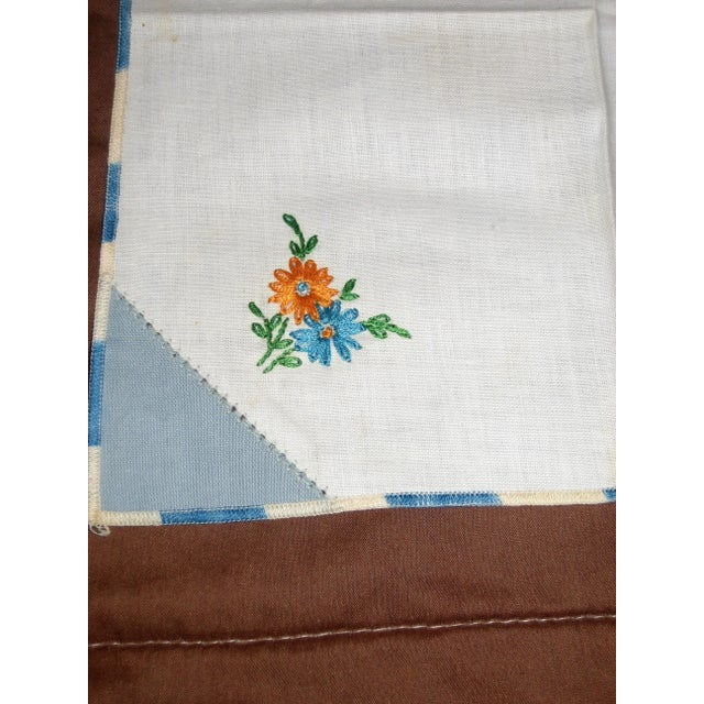 Cottage Vintage Cotton Napkins - Set of 4 For Sale - Image 3 of 5