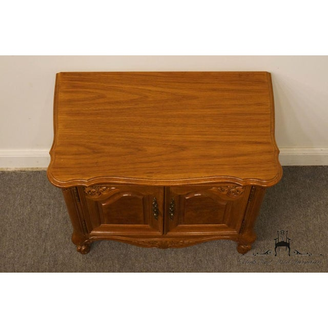 """Late 20th Century Lexington Furniture Chateau Latour Collection French Country 30"""" Nightstand For Sale - Image 5 of 13"""
