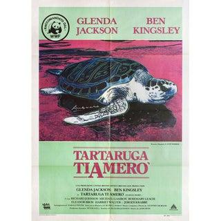 Turtle Diary 1985 Italian Due Fogli Film Poster For Sale