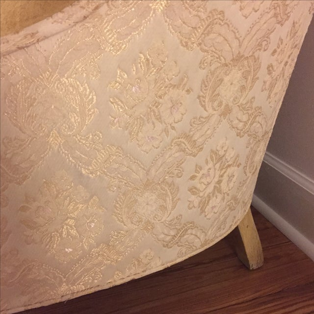 Vintage French Shabby Chic Settee - Image 5 of 9