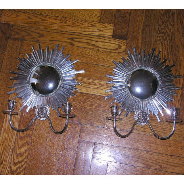 Louis XIV Louis XIV Style Sconces - A Pair For Sale - Image 3 of 6