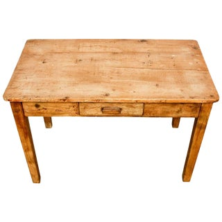 Rustic Pine Work Table or Farmhouse Desk