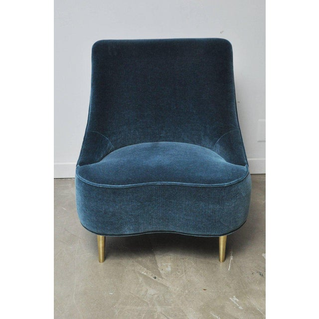"""Dunbar model 5106 """"Teardrop"""" chair. Designed by Edward Wormley in 1951. This chair has been fully restored and..."""