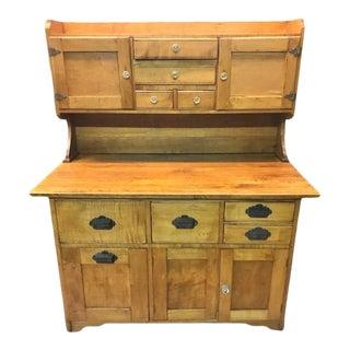 Antique Hoosier Type Bakers Cabinet For Sale